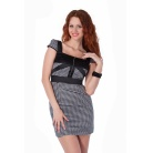 Фото Платье Mondigo 9654. Цвет: черный. Размер одежды: 46