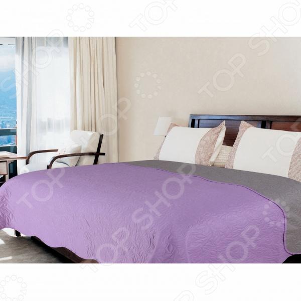Покрывало Amore Mio Alba lilac-grey покрывало amore mio покрывало alba цвет бежевый коричневый 200х220 см