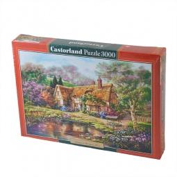 Купить Пазл 3000 элементов Castorland «Сумерки у пруда»