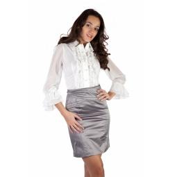 фото Юбка Mondigo 9652. Цвет: серый. Размер одежды: 48