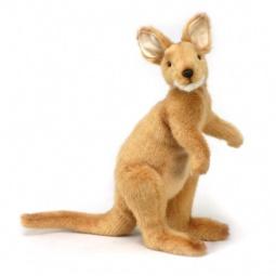 фото Мягкая игрушка для ребенка Hansa «Кенгуру»