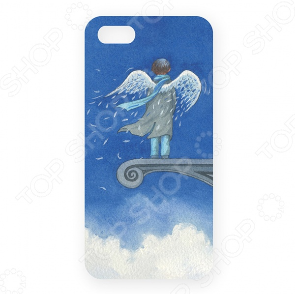 Чехол для iPhone 5 Mitya Veselkov «Ангел в небесах»