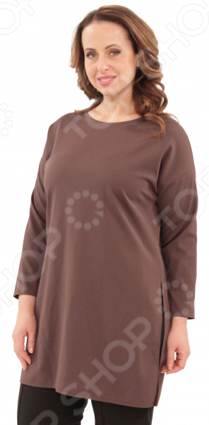 Туника СВМ-ПРИНТ «Лунный свет». Цвет: кофейныйТуники<br>Туника СВМ-ПРИНТ Лунный свет это великолепная вещь, которая создана с учетом всех особенностей женской фигуры. В этой тунике вы будете чувствовать себя тепло и комфортно как на работе, так и на любой вечеринке. Тунику можно носить не только с брюками, но и с юбками, ведь цвет универсален. Мягкая и приятная к телу ткань, а длинные рукава подчеркнут вашу красоту. Можно отметить следующие преимущества:  Удлиненная туника свободного кроя.  Оригинальный фасон скроет все недостатки.  Уникальная модель, которую можно приобрести только на нашем телеканале! Сшита туника из мягкого материала 100 полиэстер . Ткань хорошо пропускает воздух и является антистатической, не скатывается при стирке и ношении. Швы обработаны текстурированными, эластичными нитями, благодаря чему швы тянутся и не натирают.<br>