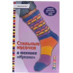 фото Стильные носочки в технике «Нукинг»