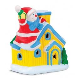 фото Набор для росписи светильника Color Puppy «Домик снеговика»