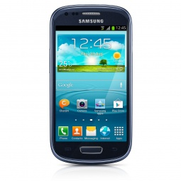 фото Смартфон Samsung Galaxy S III mini GT-I8190 8Gb. Цвет: синий
