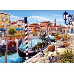 Купить Пазл 1000 элементов Castorland «Венецианский канал в Италии»