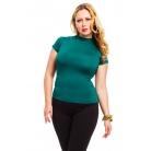 Фото Водолазка Mondigo XL 037. Цвет: темно-зеленый. Размер одежды: 48