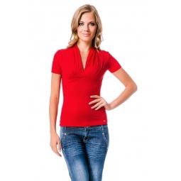 фото Футболка Mondigo 7046. Цвет: красный. Размер одежды: 46
