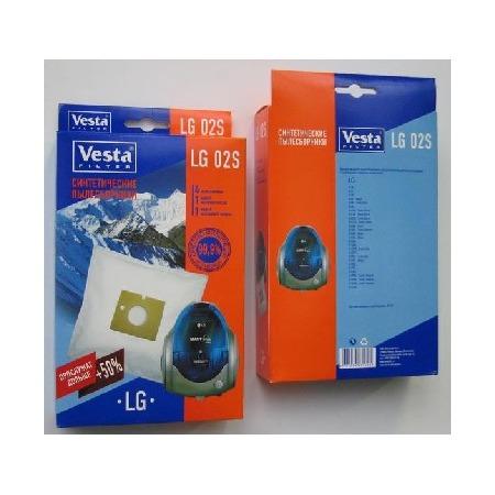 Купить Мешки для пыли Vesta LG 02 S