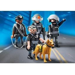 фото Конструктор игровой Playmobil «Полиция: Отряд специального назначения»