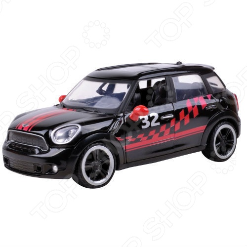 Модель автомобиля 1:24 Motormax MINI COOPER S Countryman GT Racing игрушка motormax gt racing mini cooper s countryman 73773