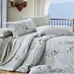 фото Комплект постельного белья Amore Mio Buket. Provence. Евро