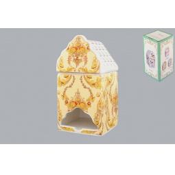Купить Банка для чайных пакетиков Elan Gallery «Узор золотой»