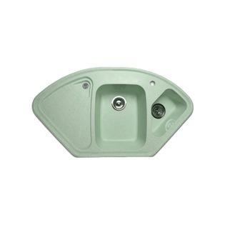 Купить Мойка кухонная GranFest Corner GF-C1040E. Цвет: зеленый