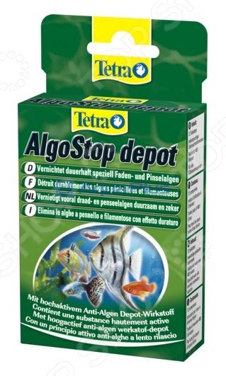 Средство против водорослей Tetra AlgoStop depot корм tetra tetramin xl flakes complete food for larger tropical fish крупные хлопья для больших тропических рыб 10л 769946