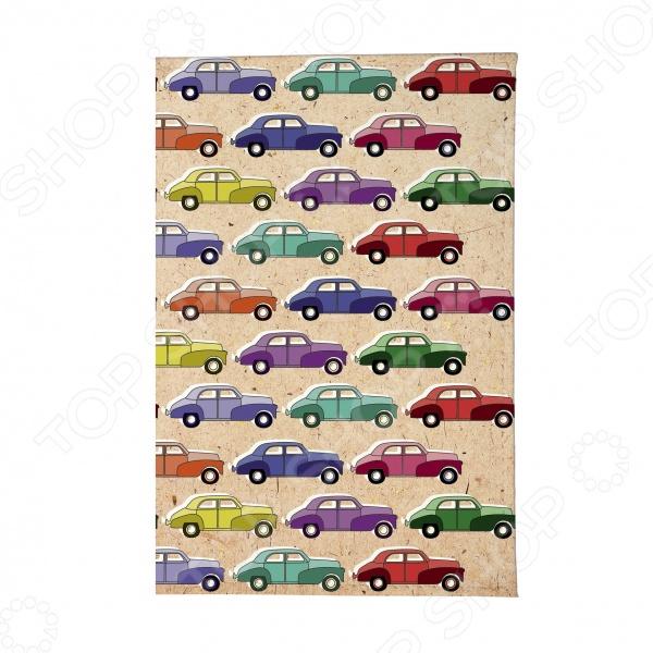 Обложка для паспорта Mitya Veselkov «Цветные машинки»