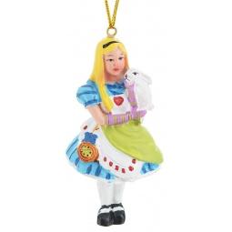 фото Игрушка елочная Феникс-Презент 38267 «Алиса с кроликом»
