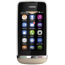 фото Мобильный телефон Nokia 311 Asha. Цвет: золотистый
