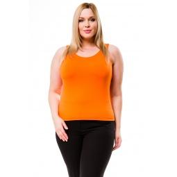 фото Майка Mondigo XL 335. Цвет: оранжевый. Размер одежды: 48