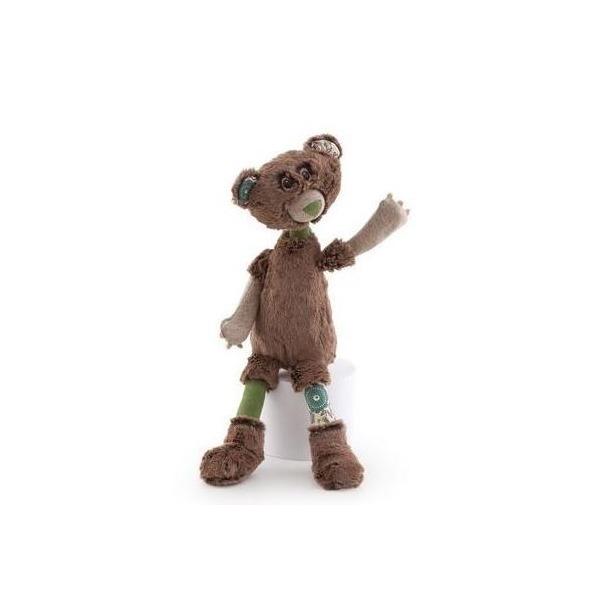 фото Мягкая игрушка Trudi Мишка Базиль. Размер: 33 см