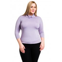 фото Водолазка Mondigo XL 211. Цвет: сиреневый. Размер одежды: 52