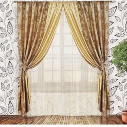фото Комплект штор Злата Корунка 55547