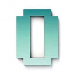 фото Дверной номерок Студия Артемия Лебедева «Дигитус» 0. Цвет: голубой