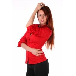 фото Блузка Mondigo 9671. Цвет: красный. Размер одежды: 44