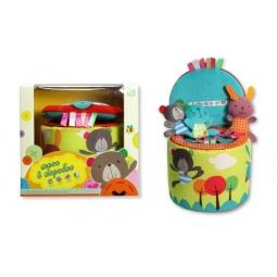 Купить Игрушка развивающая Bobbie & Friends «Трое в коробке»