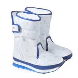 Купить Сапоги дутики «Белый снег»