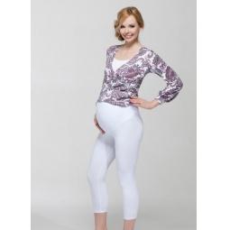 Купить Леггинсы для беременных Nuova Vita 5202.11. Цвет: белый