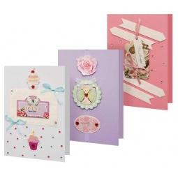 Купить Набор для создания 3-х открыток Белоснежка «Сонет»