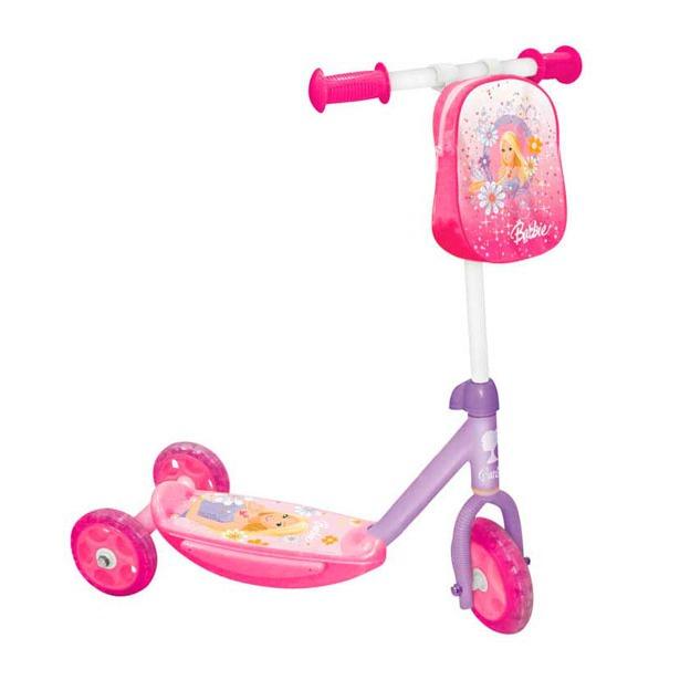 фото Самокат трехколесный Mondo Barbie