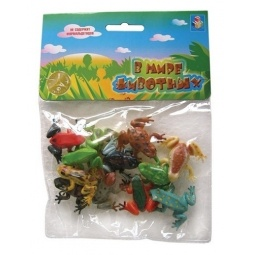 Купить Набор игрушечных лягушек 1 TOY Т50502