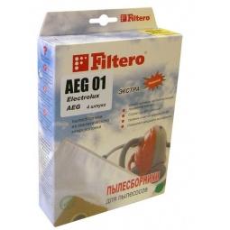 фото Мешки для пыли Filtero AEG-01 (4) Экстра