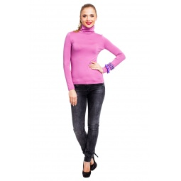 фото Водолазка Mondigo 046. Цвет: темно-розовый. Размер одежды: 42