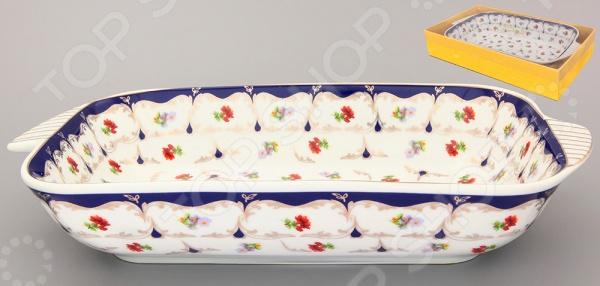 фото Блюдо-шубница Elan Gallery «Цветочек» 503532, Салатницы