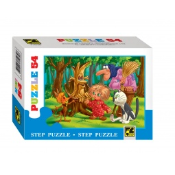 фото Пазл 54 элемента Step Puzzle Любимые герои. В ассортименте
