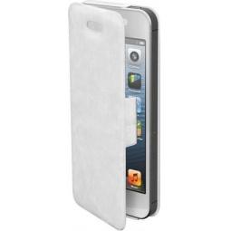 фото Чехол и пленка на экран Muvit iFlip Folio Case для iPhone 5. Цвет: белый