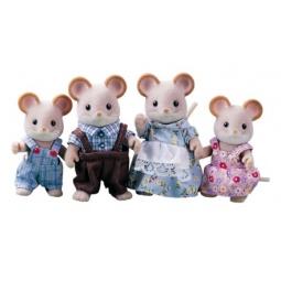 фото Игровой набор Sylvanian Families «Семья городских мышей»