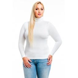 фото Водолазка Mondigo XL 046. Цвет: белый. Размер одежды: 48