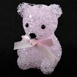 Купить Фигура светящаяся Irit «Мишка с розовым бантом»