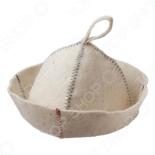 Шапка для бани и сауны Hot Pot «Цветной зигзаг» 41162 шапка д бани из лыка