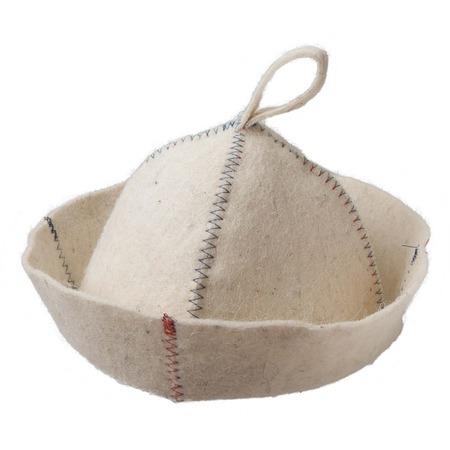 Купить Шапка для бани и сауны Hot Pot «Цветной зигзаг» 41162