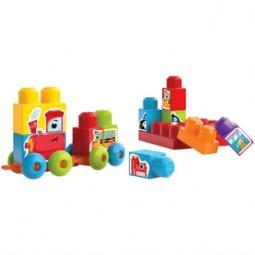 Купить Конструктор для малышей Mega Bloks «Изучи машины»