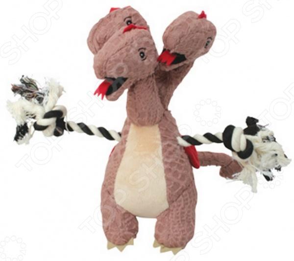 Игрушка для собак DEZZIE «Коричневый дракон» игрушка для собак dezzie кроссовок