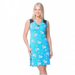 фото Сорочка Santi AW15-UAT-LSS-190. Цвет: бирюзовый. Размер одежды: 46-48