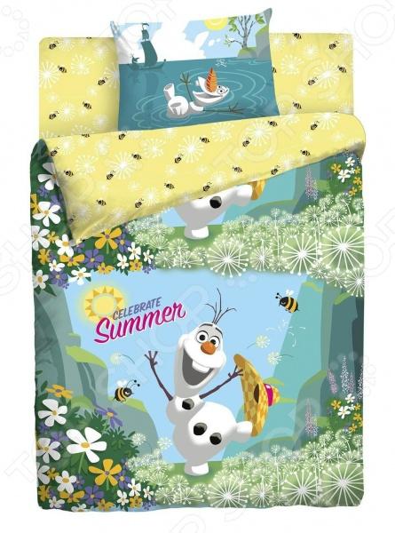 Детский комплект постельного белья Disney «Холодное сердце»