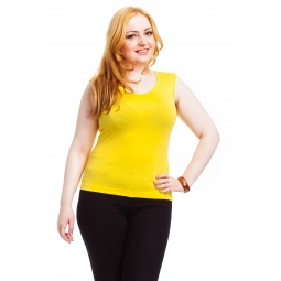 фото Майка Mondigo XL 326. Цвет: желтый. Размер одежды: 52